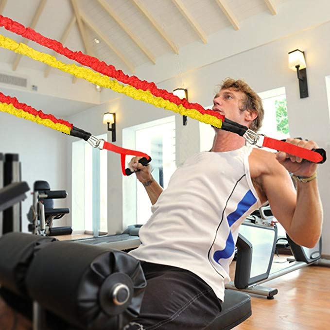 Fitness Pull Rope Resistance Bands For Strength Training