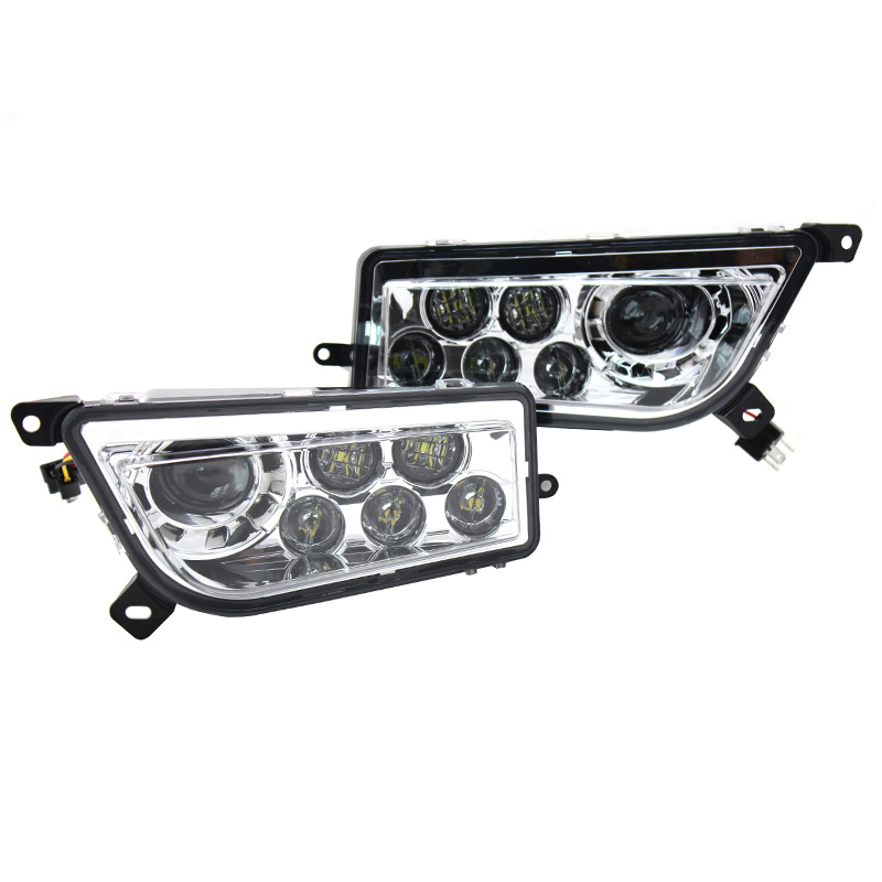 Polaris RZR 1000 ATV UTV Chrome Hitam LED Headlight Polaris RZR 900 - Lampu mobil - Foto 2