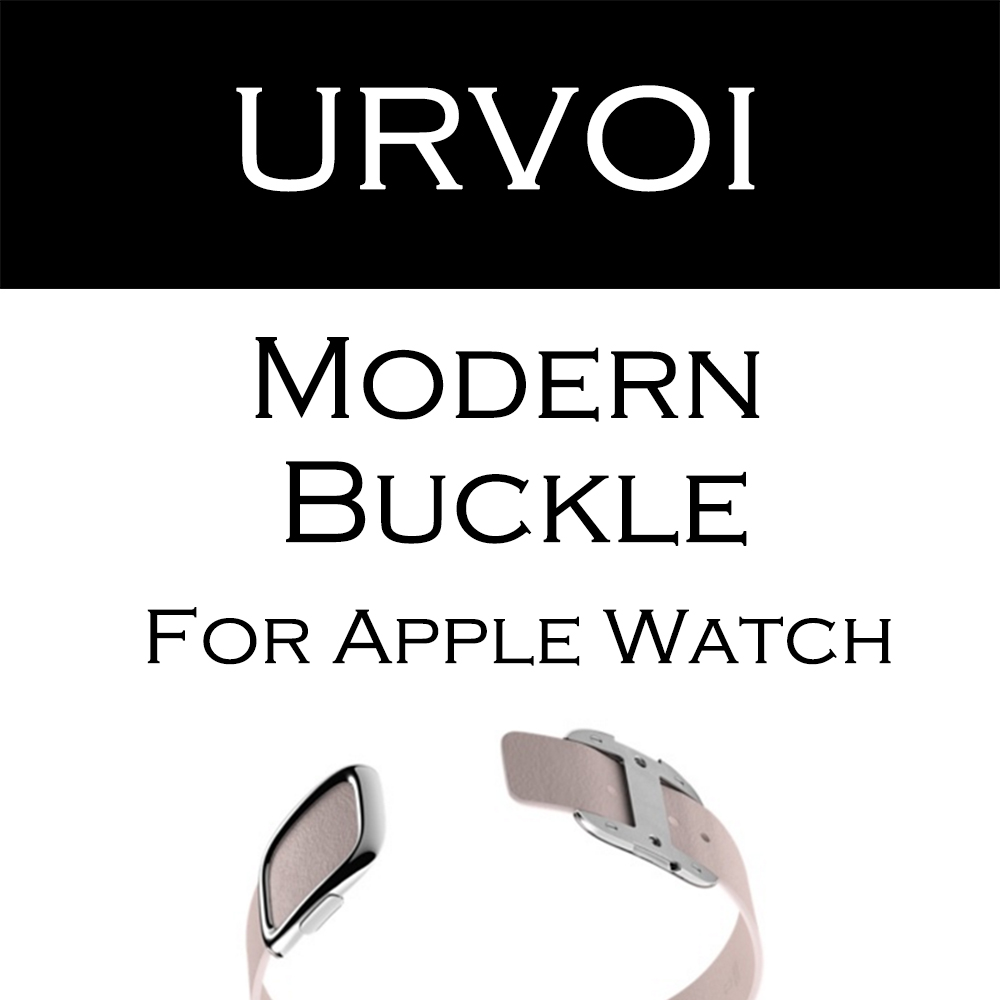 цена на URVOI Modern buckle for apple watch series 3 2 1 band for iwatch supple smooth top-grain leather leather strap comfortable feel