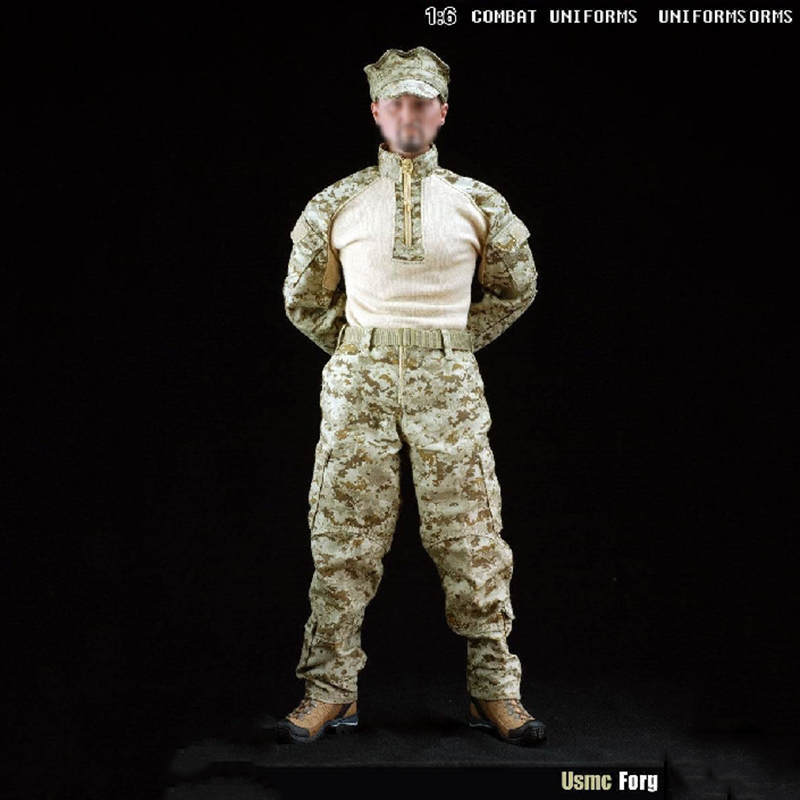 1/6 USMC Forg Combat Suit for 12 inches Male Soldier Action Figure Similar to SS USMC 1.0 ботинки usmc американской морской пехоты