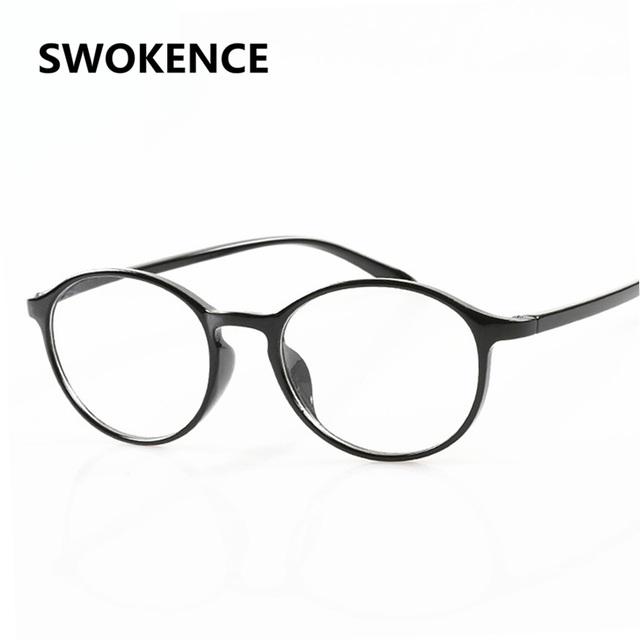SWOKENCE Brand Designer Unbreakable TR90 Memory Toughness Frame Reading Glasses Men Women Anti-fatigue Presbyopic Eyewear R120