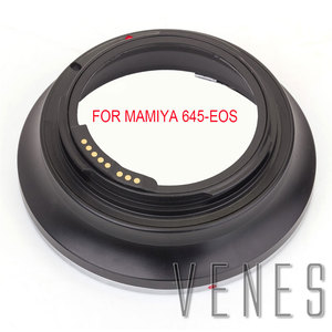 Image 1 - Venes Suit For Mamiya 645 Lens to Canon EOS Camera GE 1 AF Confirm Lens Mount Adapter