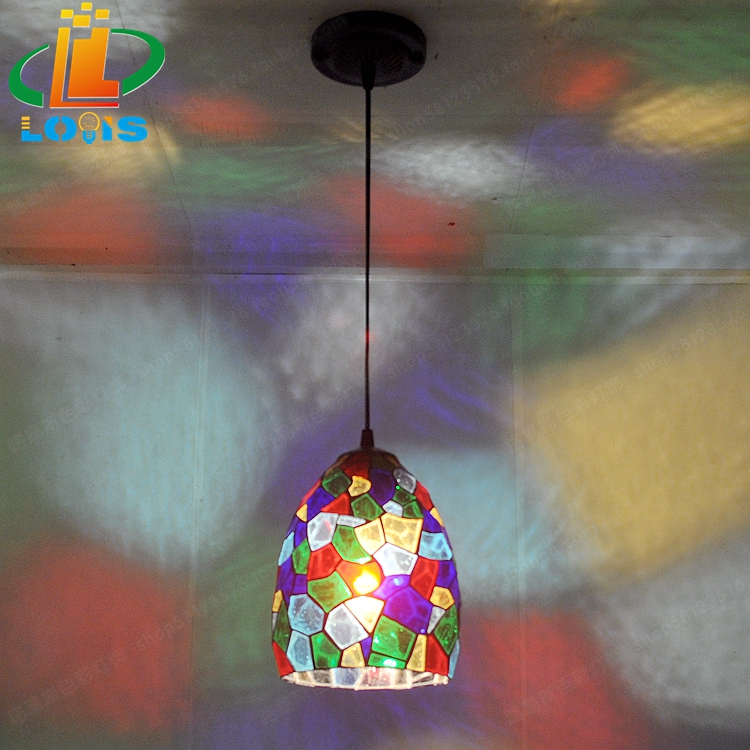 European style colorful glass simple small lamp Tiffany balcony corridor corridor lighting creative personality lighting 12 inch simple european style modern restaurant droplight tiffany glass lighting mahjong table mediterranean balcony lamp