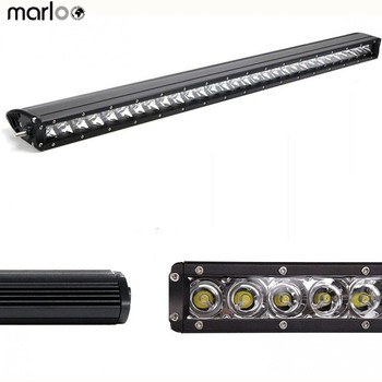 """Marloo 31"""" 150W LED Light Bar Single Row Slim Offroad Car Work Lights For Jeep Toyota Tundra Ford Pickup 4WD 30 Inch"""