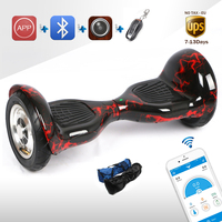 APP Electric Scooter Bluetooth Self Balance Hover Board Stand Up Remote Overboard Electric Skywalker 4400amh 700w