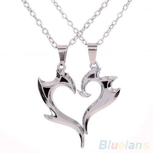 SILVER CHAIN /& MOBILE PHONE PENDANT NEW FASHION NECKLACE CUTE GIFT LOVER EMO UK