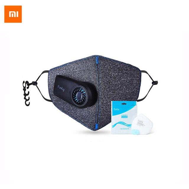 Новое прибытие Xiaomi чисто Air Маска Анти-загрязнение PM2.5 550 мАч battreies Перезаряжаемые фильтр