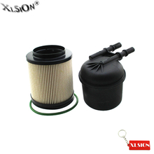 xlsion fuel filter kit for 2011-2013 ford 6 7l v8 diesel f250 f350 f450  f550 replace