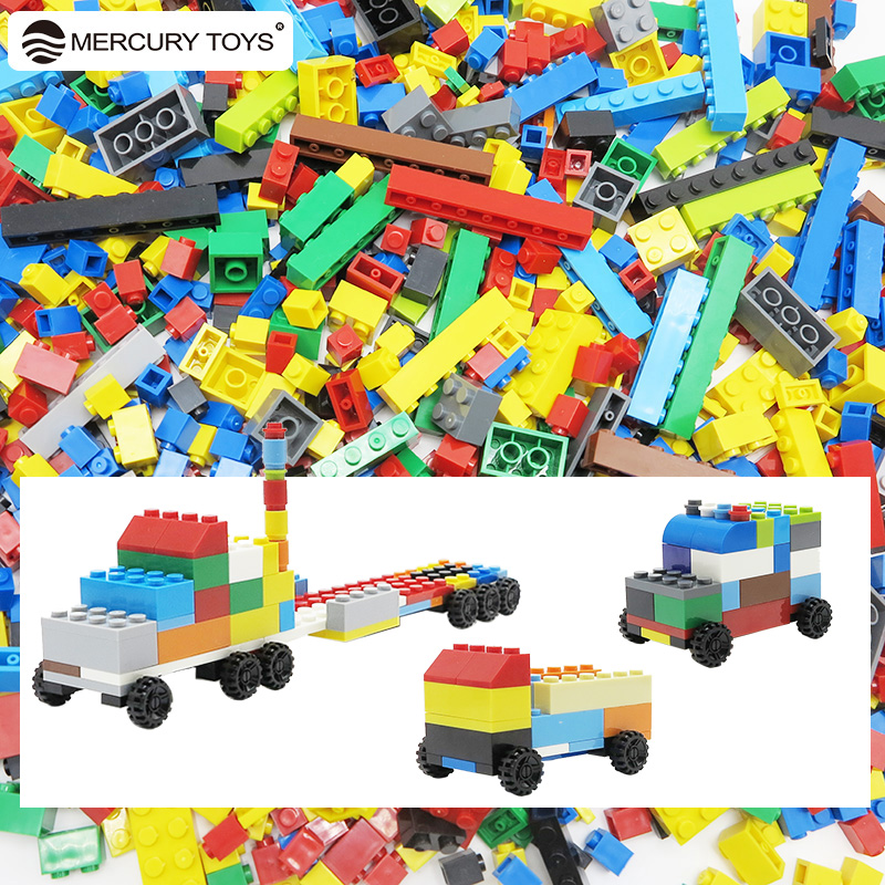 500pcs 1000pcs Small Building Block DIY Creative Bricks Educational Toys for Children Compatible with major brand Multicolor 1000 pcs diy creative brick toys for child educational building block sets bulk bricks compatible with major brand blocks