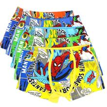 new arrival baby Spider Man underwear panties boys children's boxer briefs kids knickers 011