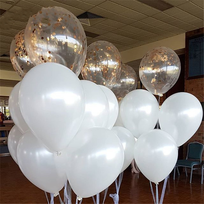 Supplies Gifts Grey Balloons Inflatable Toys Wedding Decoration Latex Balloon