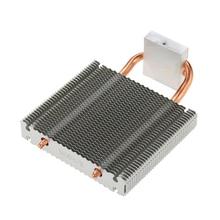 Вентилятор охлаждения процессора 2 тепловые трубы радиатор алюминиевая материнская плата радиатора/Northbridge охладитель охлаждения поддержка 80 мм HB-802