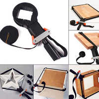 Woodworking Multifunction Belt Clamp Quick Adjustable Band Clamp Polygonal Clip 90 Degrees Hand Tools