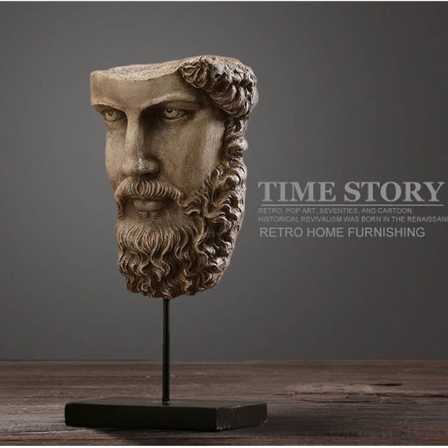 Online Shop American Rustic Style Retro Sculpture Of Ancient Greece