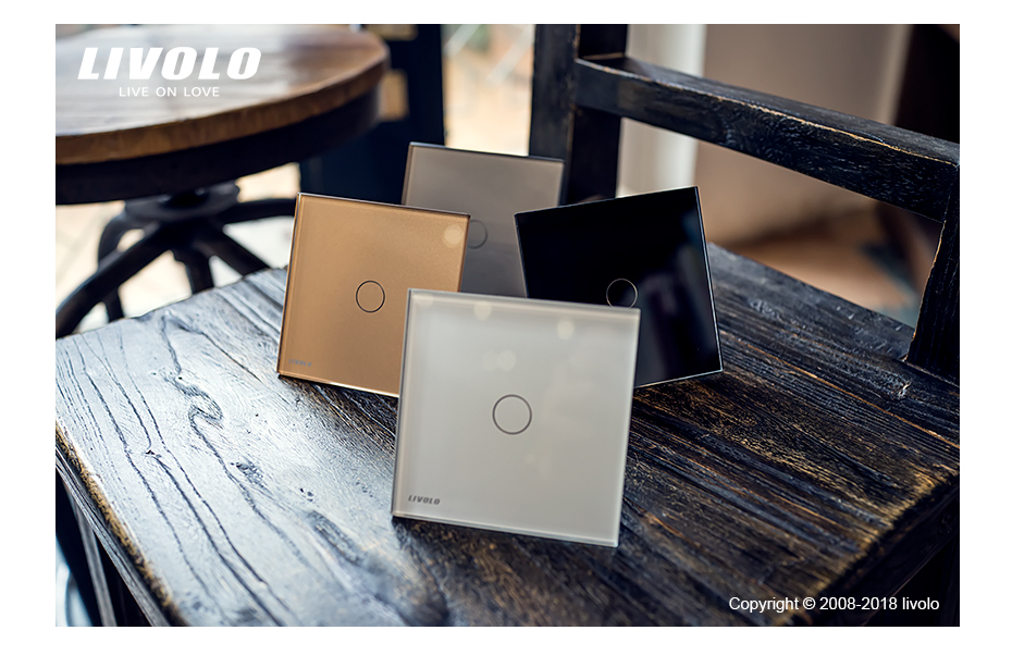 Livolo luxury Wall Touch Sensor Switch 48
