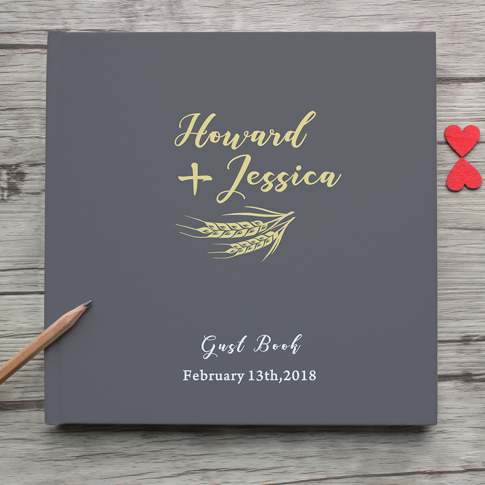 Custom Mr Mrs Wedding Guest Book Alternative,Personalized Name Date White Wedding Guest Book,Photo album,Wedding Memory Sign In