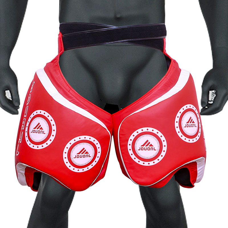 muay thai Thigh Pad sanda leg protector for muay thai training Protection over the entire front and outside part of the thigh jduanl muay thai boxing waist training belt mma sanda karate taekwondo guards brace chest trainer support fight protector deo