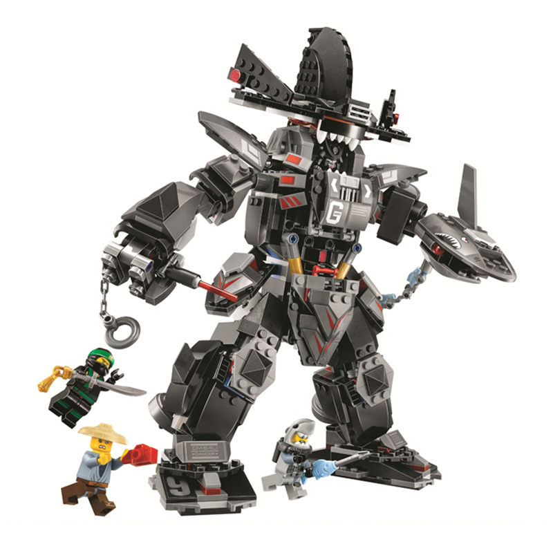 Garma Mecha Man Robots Compatible With Legoing Ninjago Model Building Blocks 806 Pcs Bricks Birthday Gifts Toys For Children