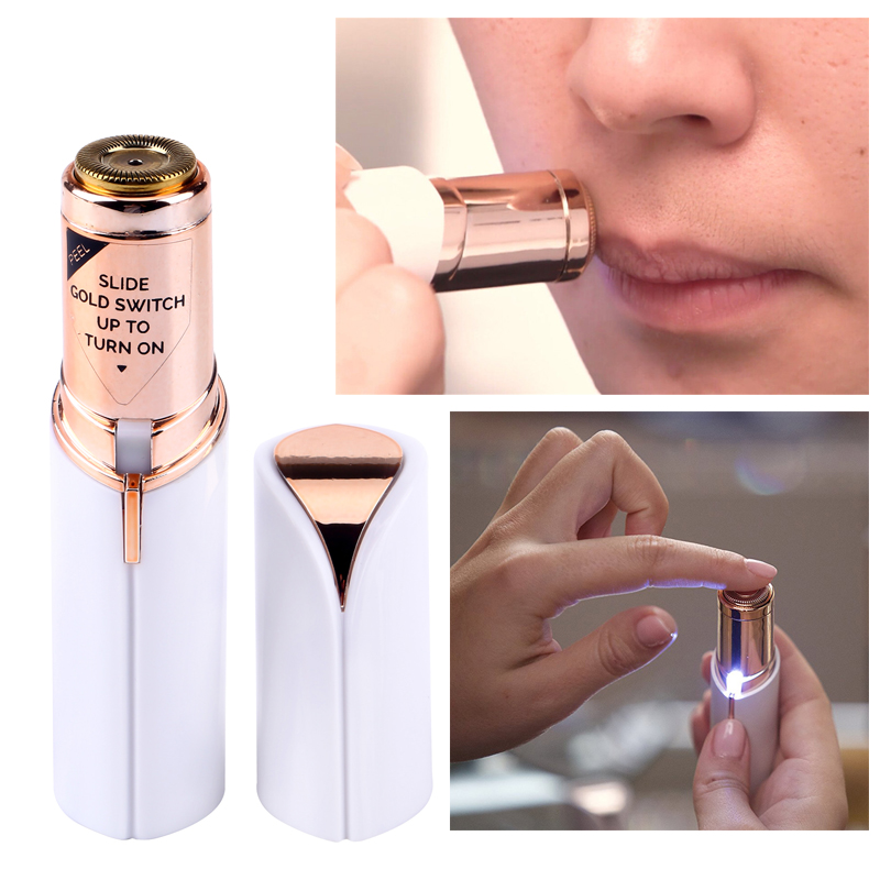 Dropshipping Flawless Hair Remover Women Painless Facial Hair Remover Lipstick Design Finishing Touch Flawless dropshipping