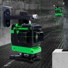 Новый Зеленый лазерный уровень 12 линия labeler уровень высокой интенсивности света напольный уровень