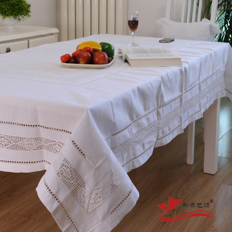 tienda online hetaiyiyuan breve moderno bordado mantel comedor mesa de caf de tela pao de tabla cubierta de tabla manteles de boda aliexpress mvil