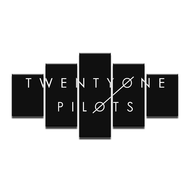 Twenty One Pilots Tour Rock Music Band Art Poster Silk Light Canvas Painting Print For Home Decor Wall Picture