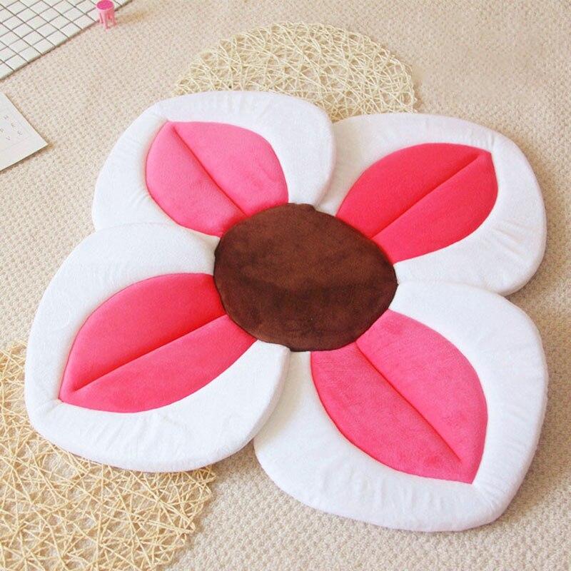 Ausdrucksvoll 80 Cm Vier Blütenblatt Blume Baby Baden Lotus Kissen Baden Baby Sicherheit Blütenblatt Pad Bad Matte Baby Spiel Pad Matte Für Baby Geschenke