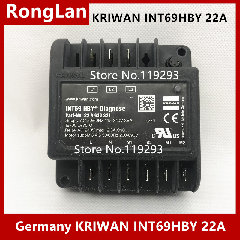 BELLA Germany KRIWAN INT69HBY 22A Hanbell compressor distributor dedicated compressor protection upgrade model Diagnose