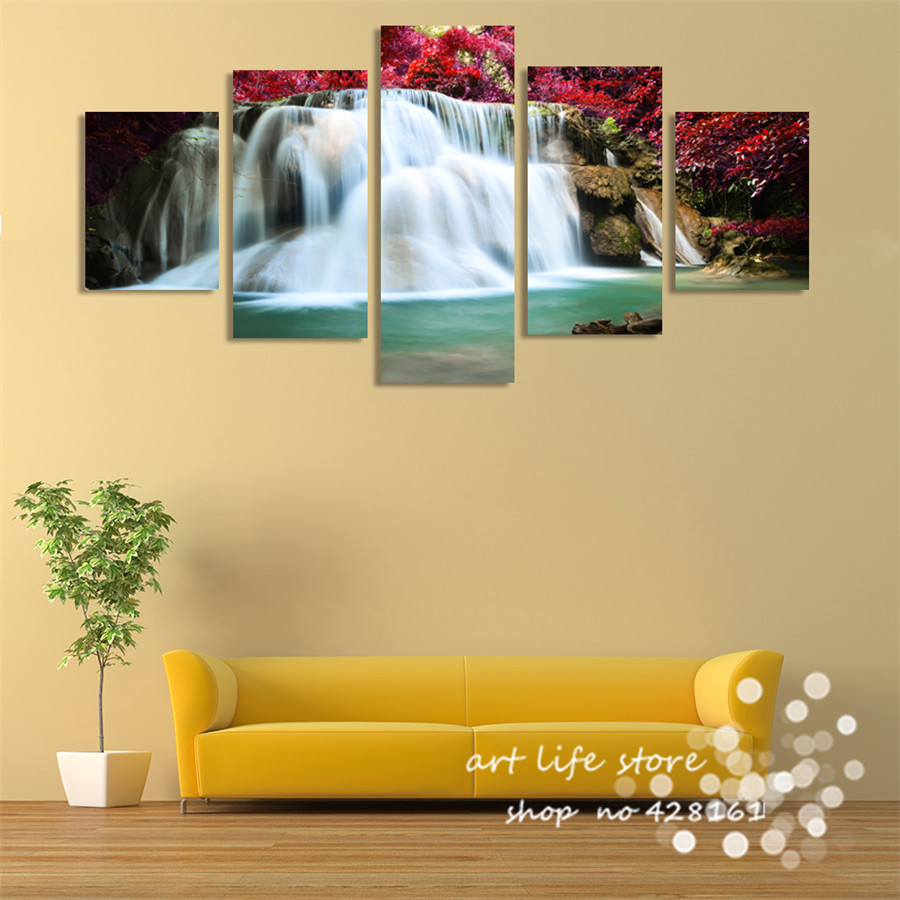 Christmas Decoration Canvas Painting Wedding Decor Wall Art Canvas ...