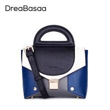 Dreabasaa mujeres cadena bolsos crossbody de las mujeres bolsos de cuero bolso de compras ocasional famoso diseño de alta calidad