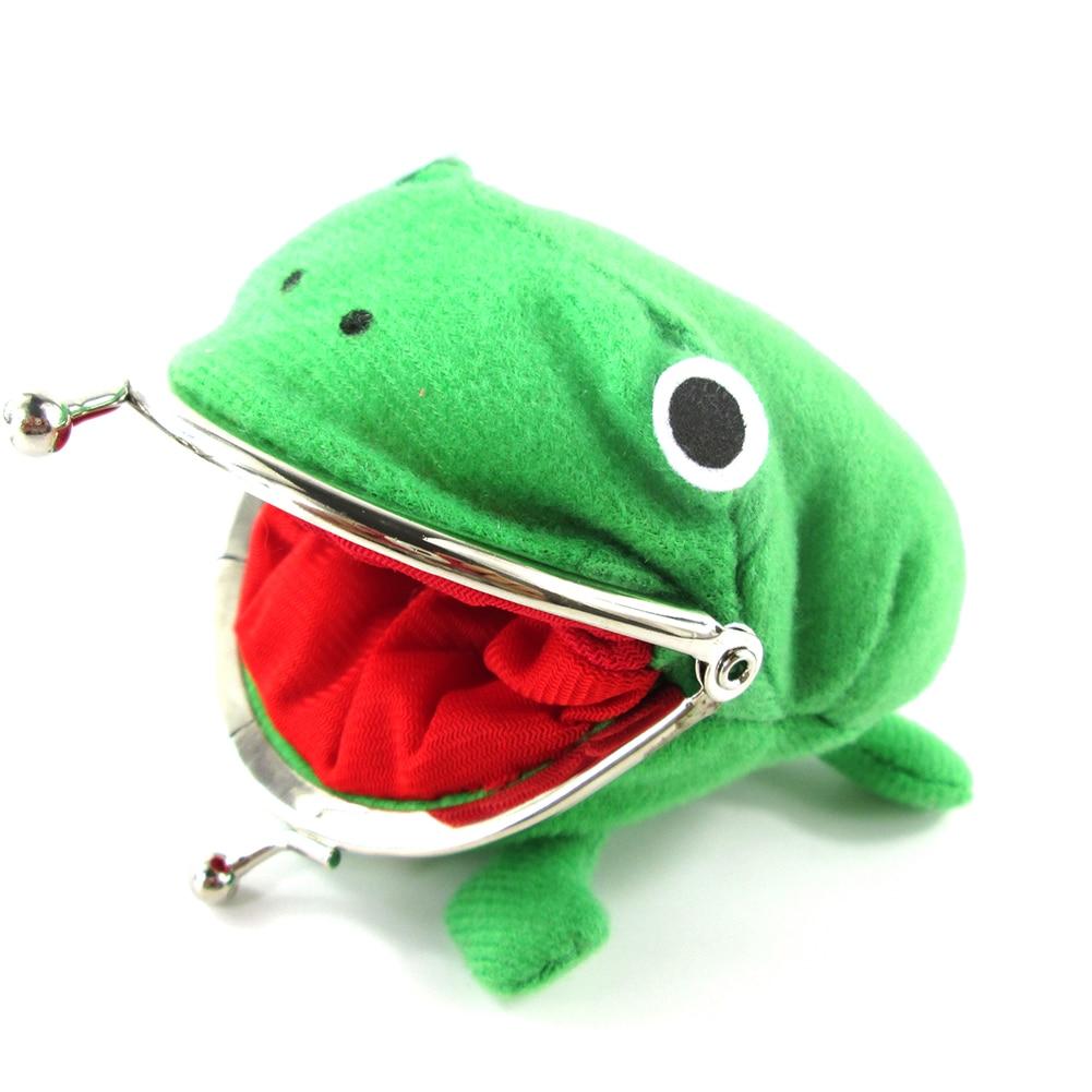 Brdwn Frog Anime Cartoon Cosplay Coin Purse Manga Cute purse Coin holder