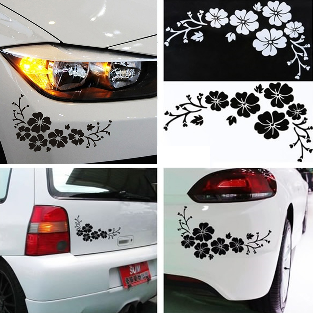 Car sticker design for sale - Positive Feedback Is Very Important To Us Pls Contact Us Before You Leave Neutral Or Negative Feedback About Car Styling Lovely Flowers