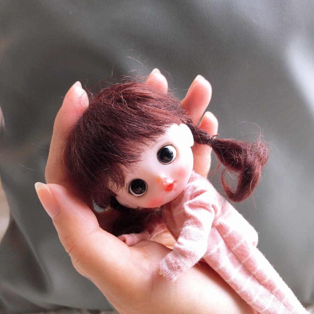 Oyuncaklar ve Hobi Ürünleri'ten Bebekler'de OB11 El Yapımı bebek özelleştirme bebekler Mini Bebek sevimli bebek'da  Grup 2