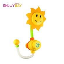 Enjoybay Babybadleksaker Roligt Solrosdusch Spray Vattenkran Badrum Badleksaker Sommarpool Badkar Badverktyg Presenter