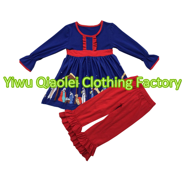 e790331201f93 Wholesale Import Baby Clothes China Outfits Fashion Design Remake Christmas  girls clothes