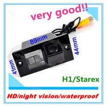 Shippingnight grátis vision carro reversa auto backup rear view invertendo estacionamento Kit Câmera CCD Retrovisor Do Carro Para Hyundai H1/Starex