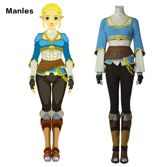 Cosplay The Legend of Zelda Breath of the Wild Anime Princess Zelda Halloween Costume Carnival Suit  sc 1 st  AliExpress.com & Cosplay The Legend of Zelda Breath of the Wild Anime Princess Zelda ...