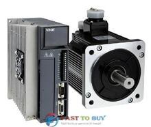 Xinje 2000 Вт 2KW Серво Система (Двигатель + Привод) MS-130ST-M07725-22P0 + DS2-22P3-A Новый