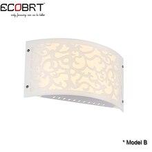 Современный 9 Вт ПРИВЕЛО Настенный Светильник в Помещении Декора Стены Бра Белый Освещение Лампы AC85-265V LED Настенные Светильники