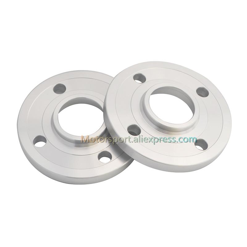 LONGER BOLTS 10mm Wheel Spacers PAIR 5x108  65.1mm CB for VOLVO S60 S80 V70