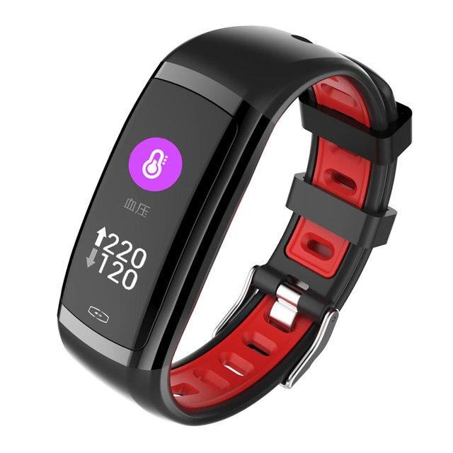 976fadb575d3 696 Cd09 Smart Band Color Screen Blood Pressure Heart Rate Monitor Fitness  Bracelet Ip67 Sport Pedometer
