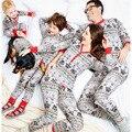 Star wars navidad pijamas familia conjunto madre padre hija hijo ropa de niño family clothing sets moda trajes a juego