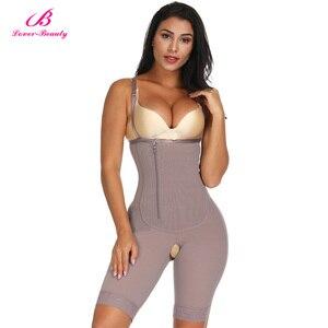 Image 1 - Lover Güzellik kadın Vücut Şekillendirici Zayıflama Iç Çamaşırı Popo Kaldırıcı Bodysuit Bel Şekillendirici Karın Kontrol Push Up Shapewear Korse