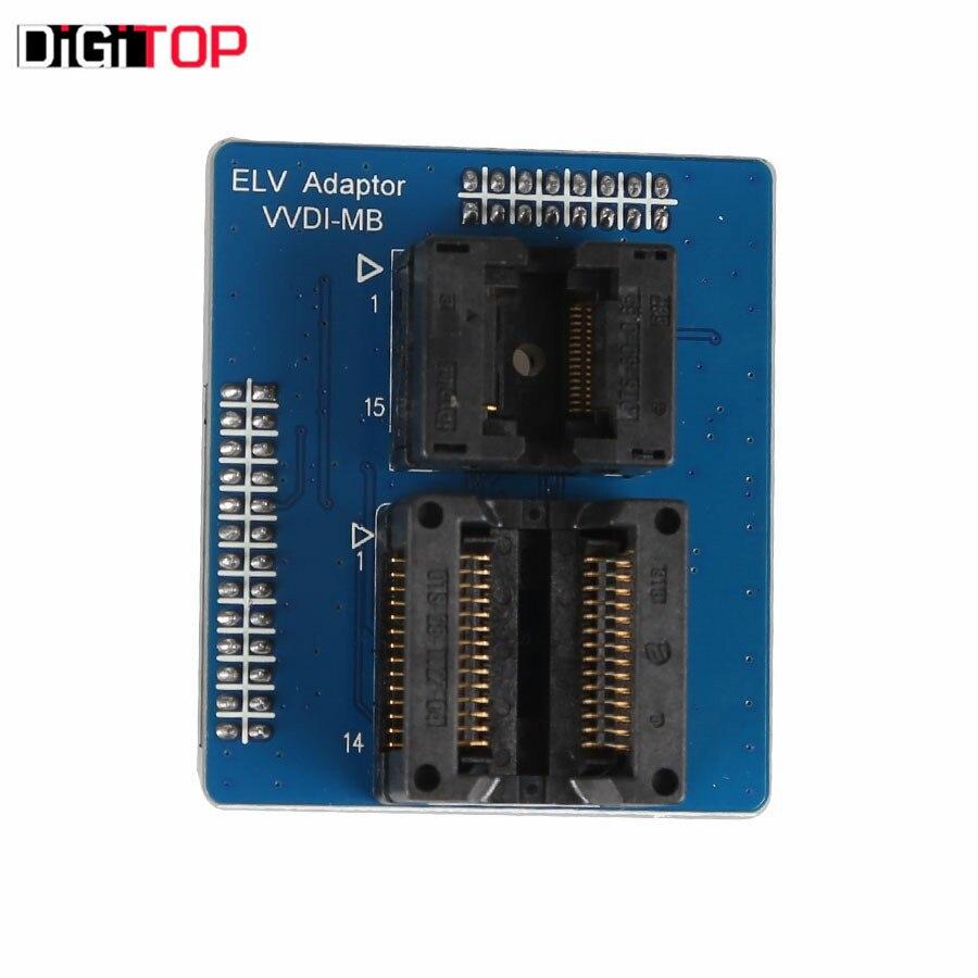 VVDI MB NEC ELV Adaptor for W202 W204 W207 ESL Damaged MB NEC ELV Adaptor