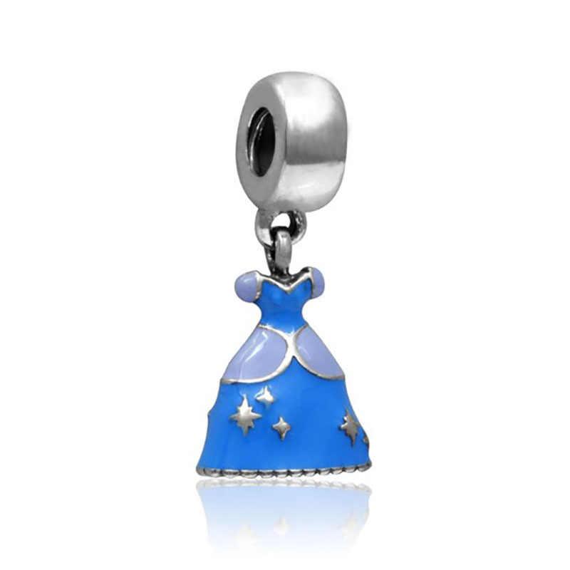 สร้อยข้อมือ princess charms bijoux เงิน 925 sieraden น้ำหอม mujer originales สร้อยคอสร้อยคอสร้อยคอสร้อยคอสร้อยคอสร้อยคอสร้อยคอสร้อยคอสร้อยคอสร้อยข้อมือเครื่องประดับลูกปัด