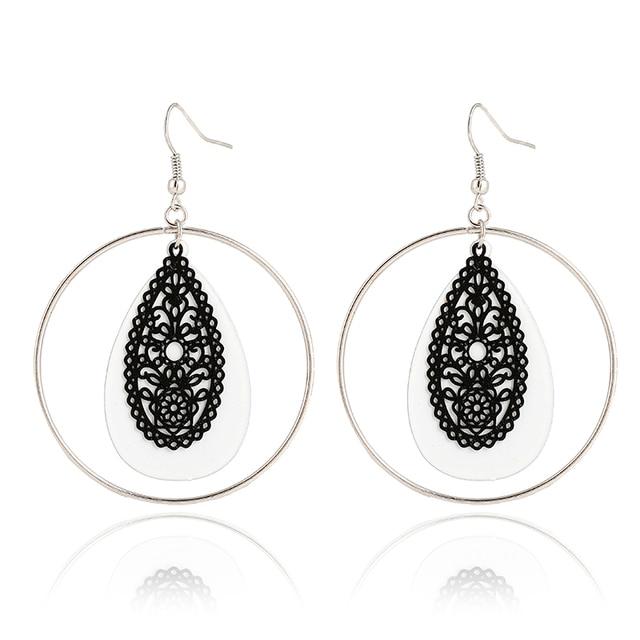 Women S Fashion Jewelery Multi Color Earrings Crystal Designer Online Indian Jewelry Earring Em5