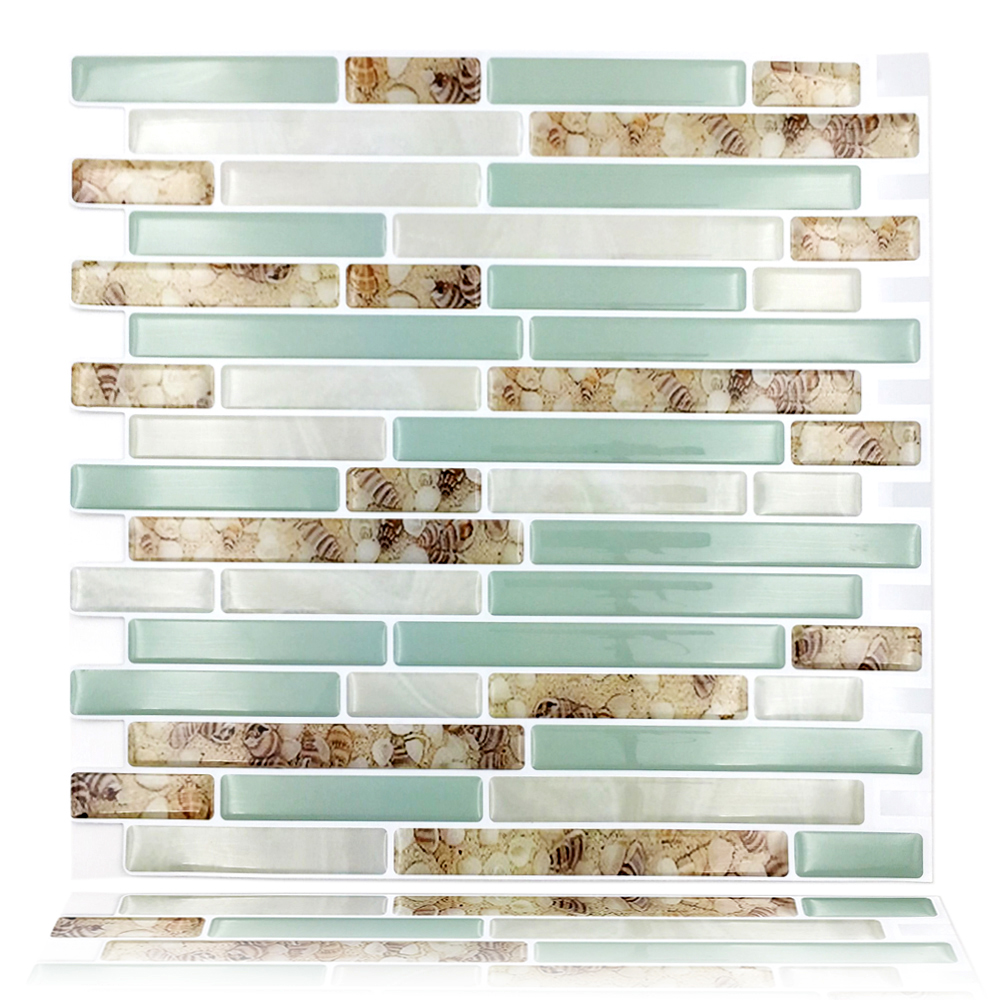Peel and Stick Tiles Kitchen Backsplash Tiles 3D Wall Stickers ...