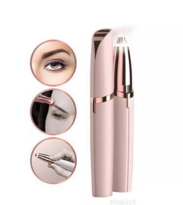 Multifunction Lipstick Eyebrow Epilator Face Brows Hair Remover Epilator Pen Mini Electric Shaver Painless Eye Brow Epilator