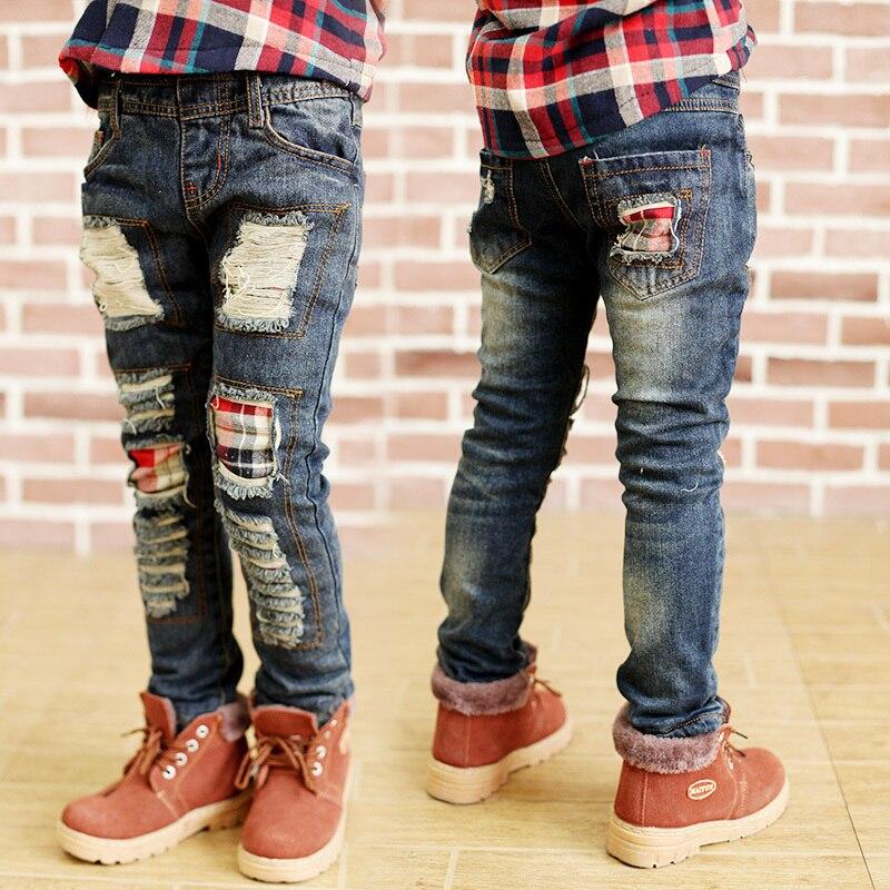 Aliexpress.com : Buy boys jeans kd 7 Fashion Torn kids ripped ...