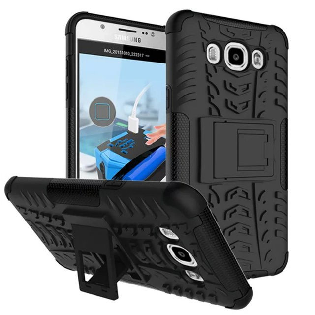 quality design 0e5b1 5fb45 US $4.99 |For Samsung J7 2016 Armor Case, Heavy Duty Rugged Dual Layer  Shockproof Protection Cover For Samsung Galaxy J7 (2016) J710 Case on ...